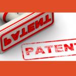 Patent Röd Bakgrund